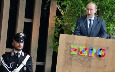 (13.06.2015) В.Путин в ходе визита в Италию всего за один день успел …..