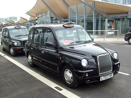 Лондонское такси–кабрио