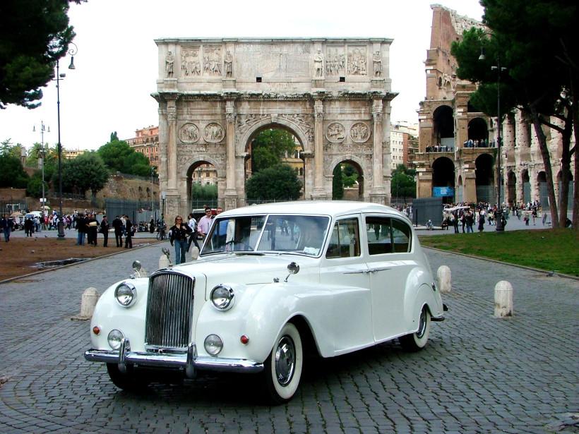 Rolls Royce silver wraith limousine Princess 1957