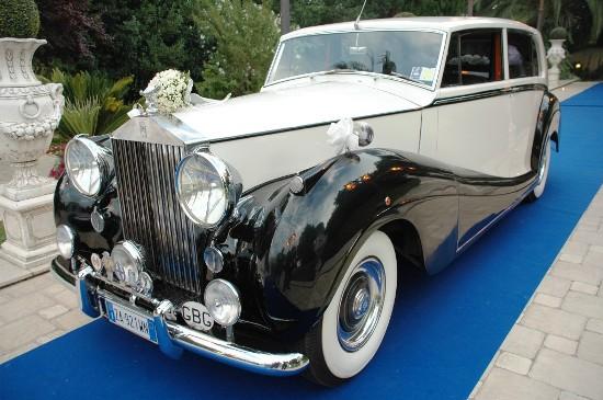Rolls Royce Silver Wraith Mulliner 1954