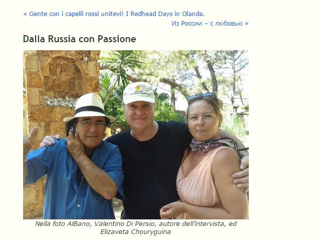 Dalla Russia con Passione