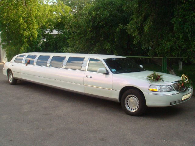 Limousine Lincoln белый