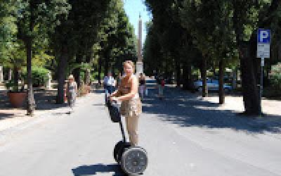 (10.08.2010) Сегвей как альтернативный вид перемещения по Риму