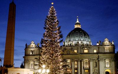 (08.01.2013) Украинская елочка для Ватикана