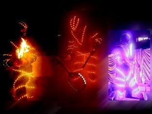 Лазерные жонглеры
