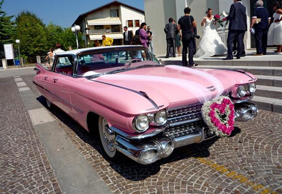 Cadillac Pinc 1959 г., автомобиль для торжеств