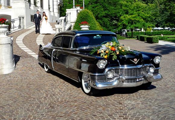Cadillac Sedan 1954 г., автомобиль для торжеств