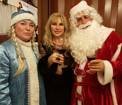«Рождество под звездами и со звездами» (русский клуб)