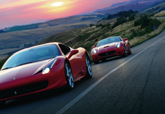 Тур на Ferrari и вечеринка «Рождество со Звездами»