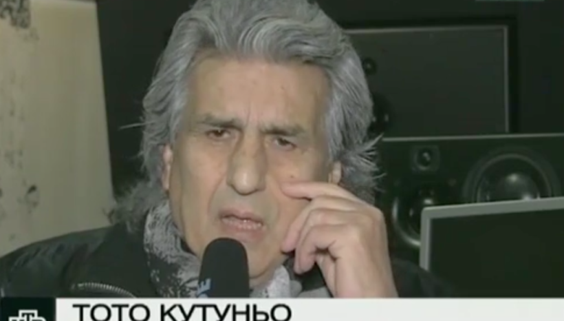Репортаж для НТВ: Кутуньо шокирован гибелью артистов ансамбля имени Александрова