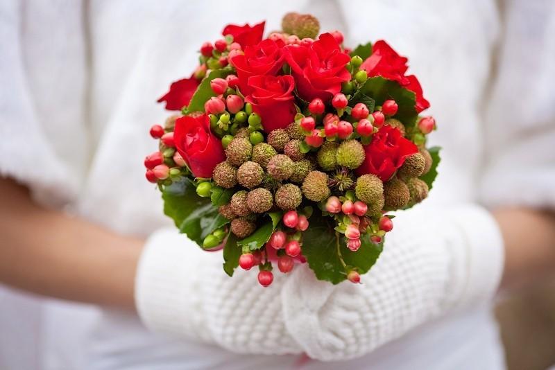 свадьба италия зима рождество европа