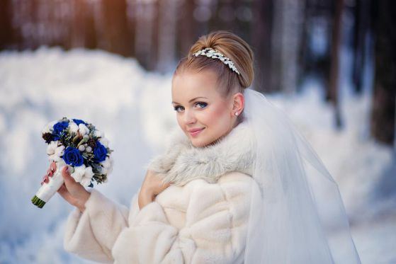 Свадьба зимой: организуйте правильно (Живи)