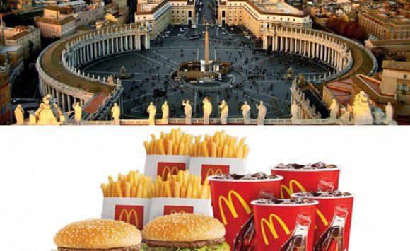 МакВатикан: бургеры для Святейшего Престола