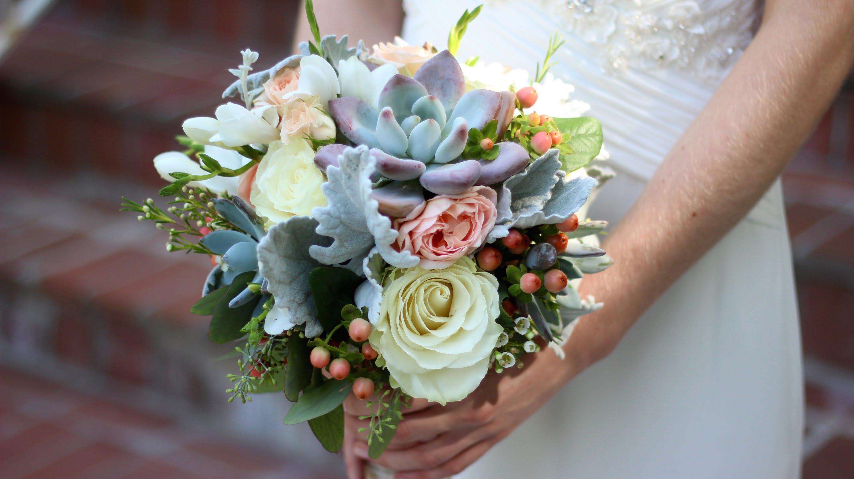 Свадебный букет своими руками описание
