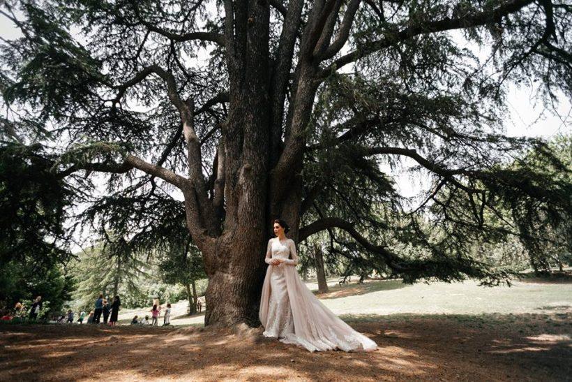 Готическая свадьба в Риме