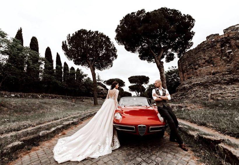 Свадьба в Италии в готическом стиле